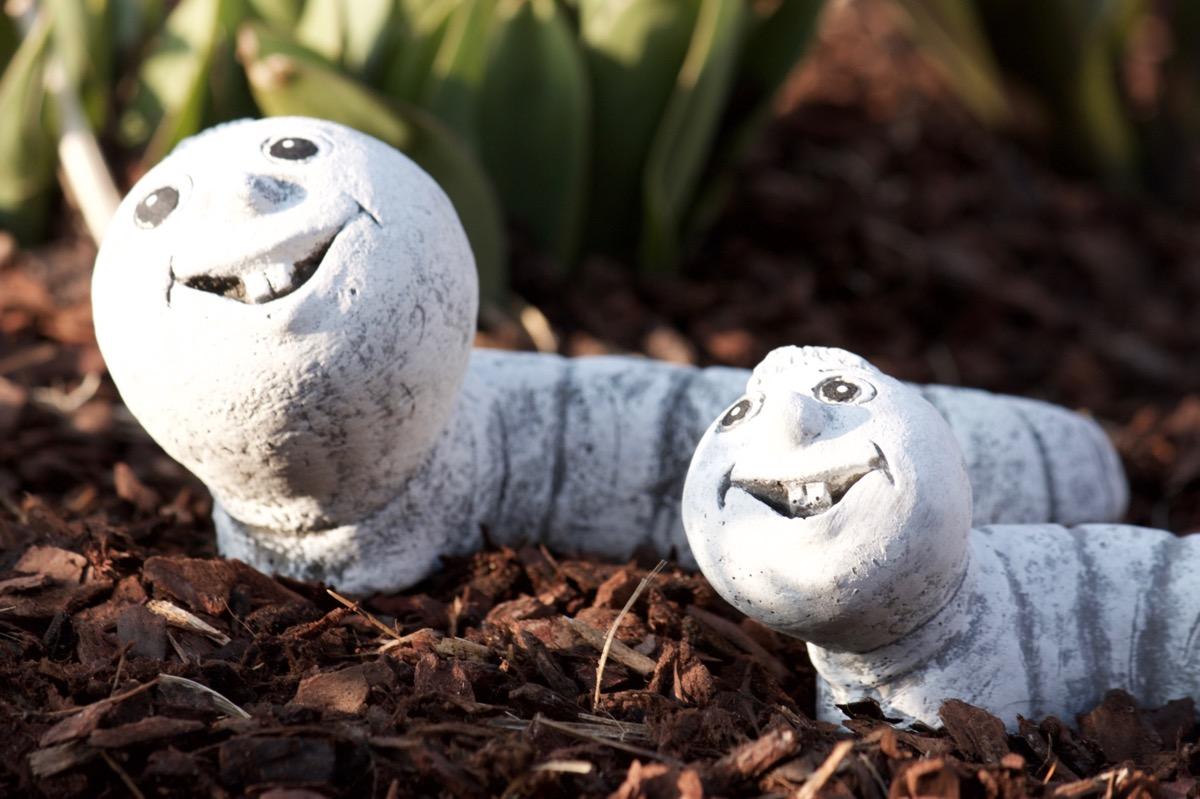 Frost 30/° C piedra maciza y resistente a la intemperie hasta Figura gusano Walter